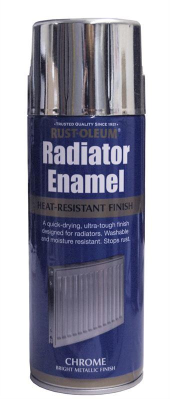 Warrior Paint Sa Radiator Enamel Chrome Metallic 400ml