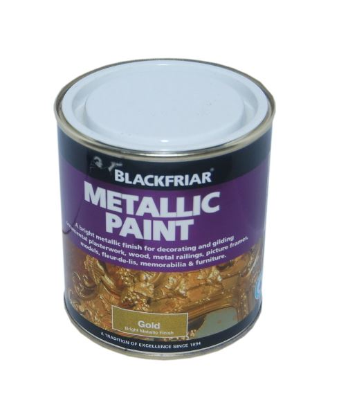 Warrior paint exterior durable metallic gold 500ml for How to make metallic paint