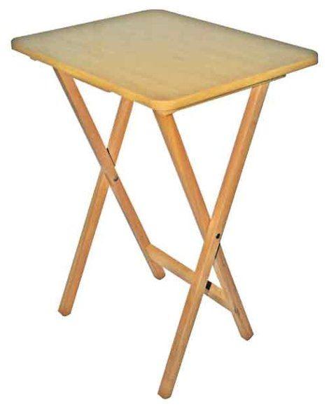 Warrior table folding tv natural wood warrior for Prem table 99 00